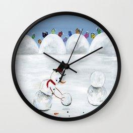 Hilly Heart Wall Clock