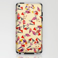 watercolour geometric shapes iPhone & iPod Skin