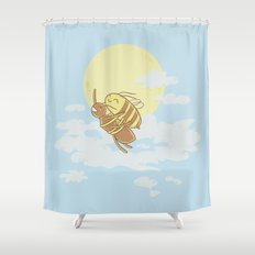 Together We Can Fly Shower Curtain