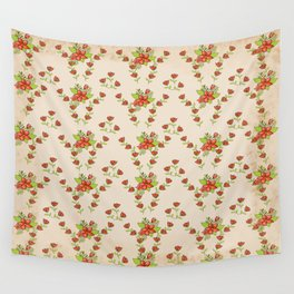 romatic flowers Wall Tapestry
