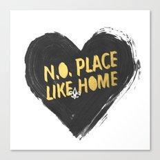 N.O. Place Like HOME Canvas Print