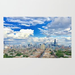 chicago views Rug