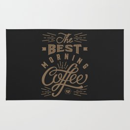The Best Morning Coffee Rug