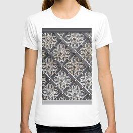 Metallic And Decorative - Grey Monochrome #decor #society6 #buyart T-shirt