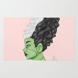 Frankenstein's Bride Rug