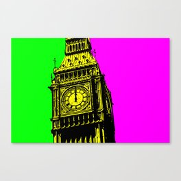 Big Ben - In all her coloured glory... Canvas Print
