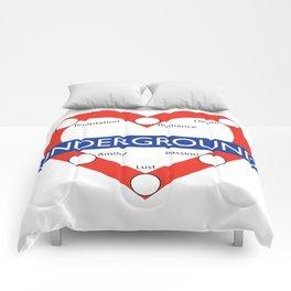Love Underground Comforters