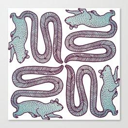 Giant Squirrels Canvas Print