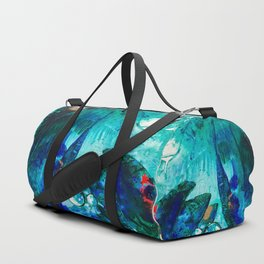 Bright Ocean Spaces, Tiny World Collection Duffle Bag