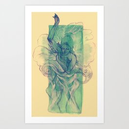 A Dream within a Dream Art Print