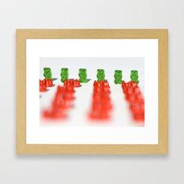 GUMMI Framed Art Print