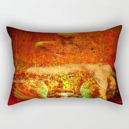 Demonic sacrifice Rectangular Pillow