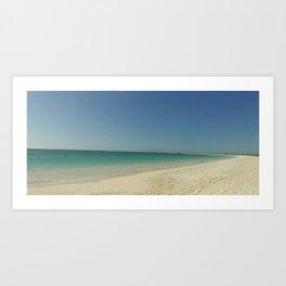 Tortuga island Art Print