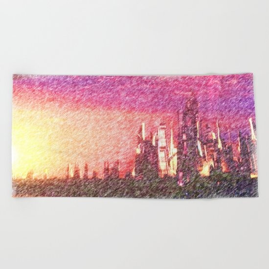 Alteran sunset Beach Towel