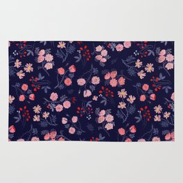 Night of the Roses Rug