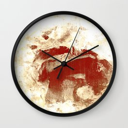 Bucephalus Wall Clock