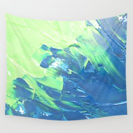 Blue & Green, No. 3 Wall Tapestry