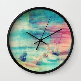 Edward Hopper Graffiti Wall Clock
