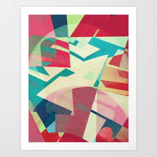 Jazz in the Hot Club Art Print