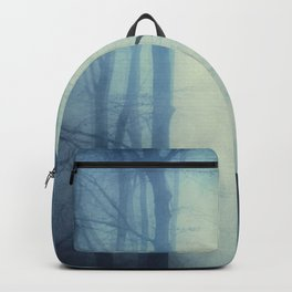 waning lines - trees in fog Backpack