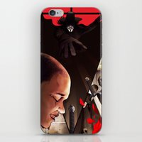 vendetta iPhone & iPod Skins featuring V (For Vendetta) by Chris B. Murray