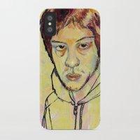 danny ivan iPhone & iPod Cases featuring Ivan by dvhstudios