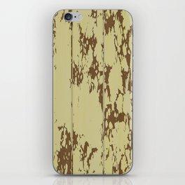 Weathered Wood Paneling 01 iPhone Skin