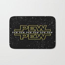 Pew Pew Stars Wars Bath Mat