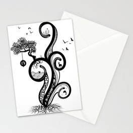 Meandering Stationery Cards