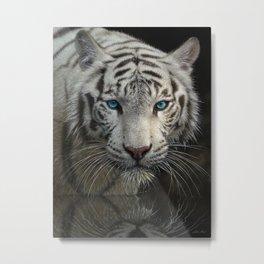 White Tiger - Into the Light Metal Print
