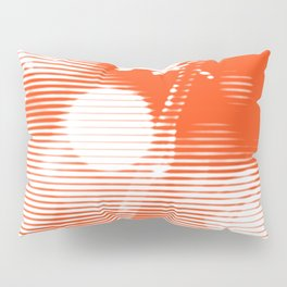 Morning Dew - Orange Pillow Sham