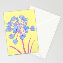 snake flower Stationery Cards
