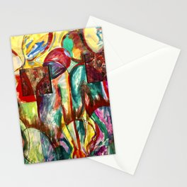 Red People Series 3 No 502 Stationery Cards