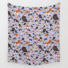 King Charles Spaniels Wall Tapestry