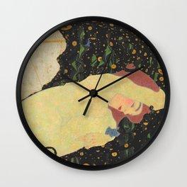 """Egon Schiele """"Daneae"""" Wall Clock"""