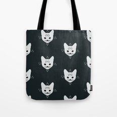 Cats!White Tote Bag