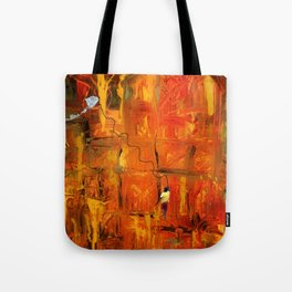 Sometimes tight, sometimes slacking... Tote Bag