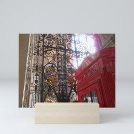 Calling me to London Mini Art Print