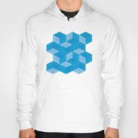 escher Hoodies featuring Escher #008 by rob art | simple