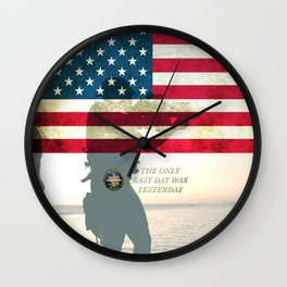 Navy Seals USA Wall Clock