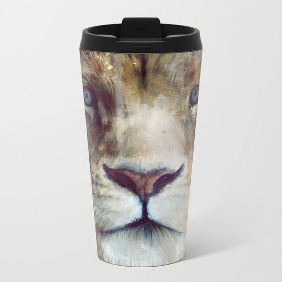 Lion // Majesty Metal Travel Mug
