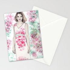 Spring Fashion 2 Stationery Cards