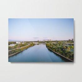 Walterdale Bridge Metal Print