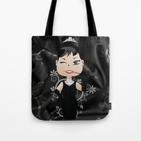 audrey Tote Bags featuring Audrey by 7pk2 online