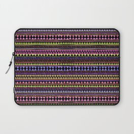Black Aztec Laptop Sleeve