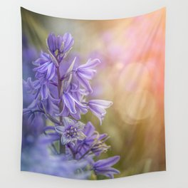Blue Spring Wall Tapestry