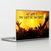 booty Laptop & iPad Skins featuring Booty by LocoLyrics