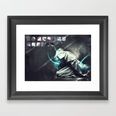 To august realms Framed Art Print