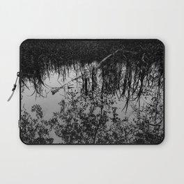 Monochrome Marshland Laptop Sleeve