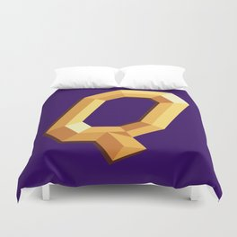 The Queen Logo Duvet Cover
